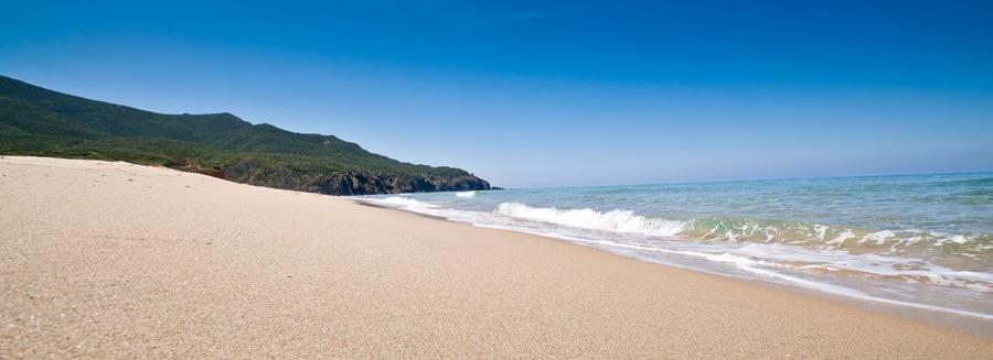 spiaggia sardegna sulcis b&b sa cruxitta costa verde