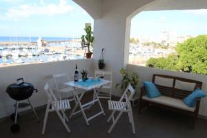casa vacanze vista mare portoscuso sardegna